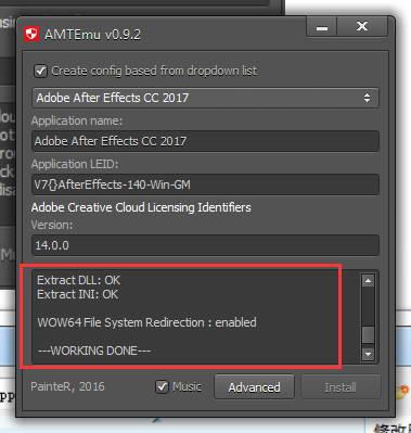 AE CC 2018 安装教程和破解方法(附破解补丁)
