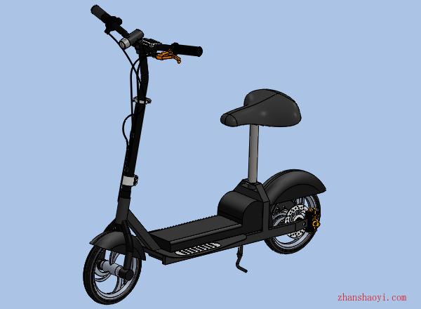 電動車代步模型下載(含源文件)