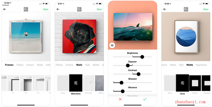 VOUN自定义相框|一款功能强大苹果手机图片处理工具