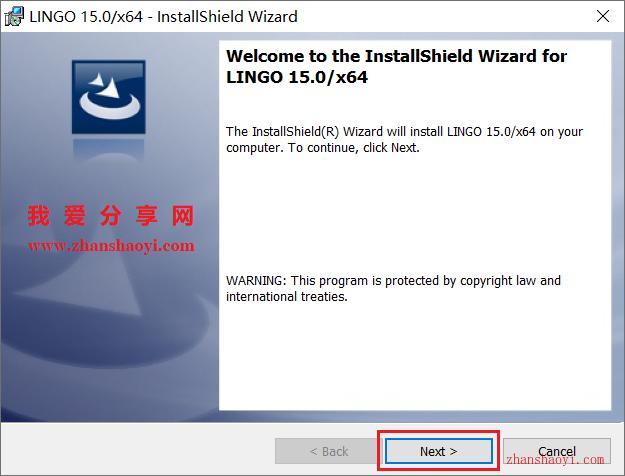 LINGO 15.0安装教程和破解方法(附补丁)
