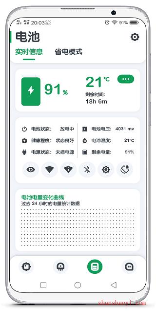 安卓强力监测|一款功能强大、界面清爽的系统监测软件