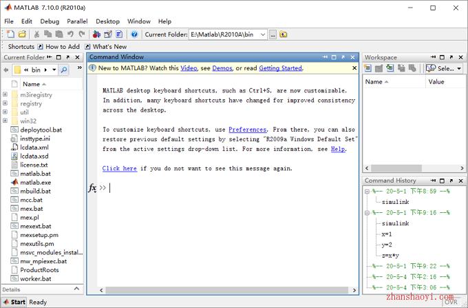 Matlab 2010a英文免安裝便攜版32位下載|兼容WIN10
