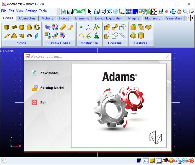 MSC Adams 2020安裝教程合破解方法(附安裝包)