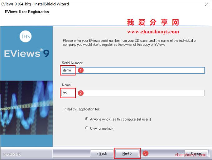 EViews 9安装教程和破解方法(附注册机)