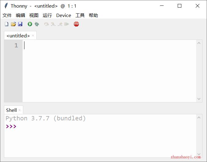 Python编辑器|Thonny 3.2.7中文版下载|兼容WIN10
