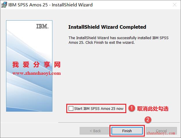 Amos 25.0安装教程和破解方法(附安装包)