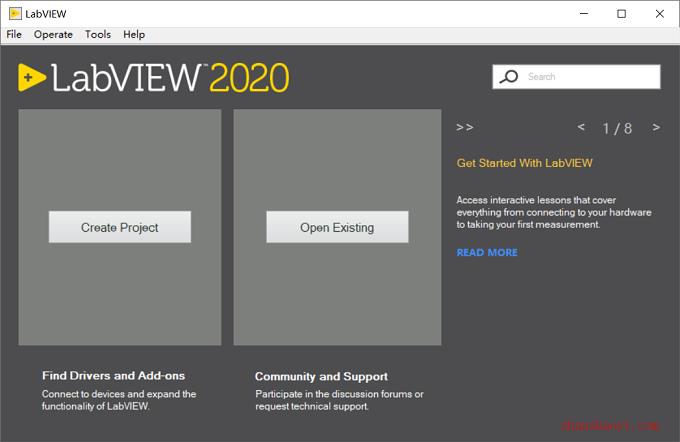 LabVIEW 2020安装教程和激活方法(附补丁)