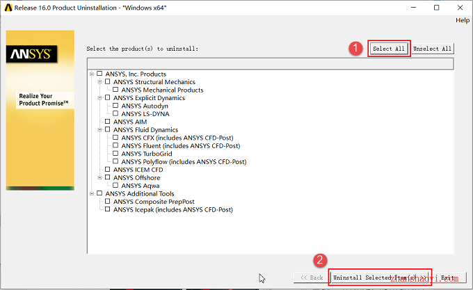 如何卸载ANSYS 16.0软件?