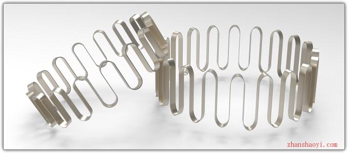 Solidworks练习题之简单四步绘制一个蛇形弹簧